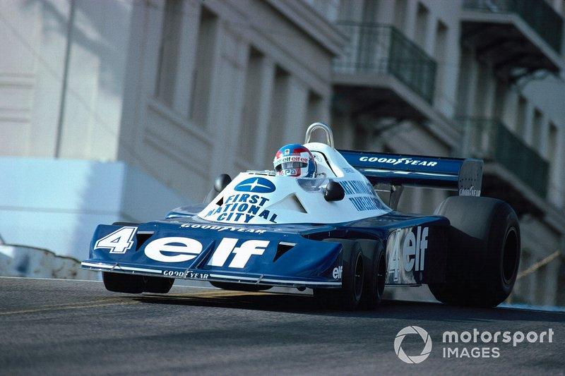 1977 - Patrick Depailler, Tyrrell P34 Ford
