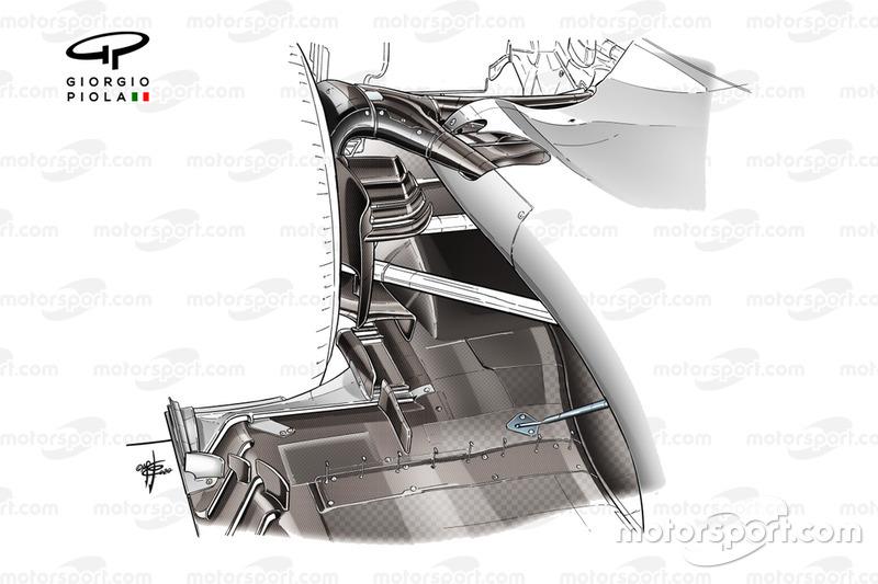 Difusor da Haas F1 VF-20