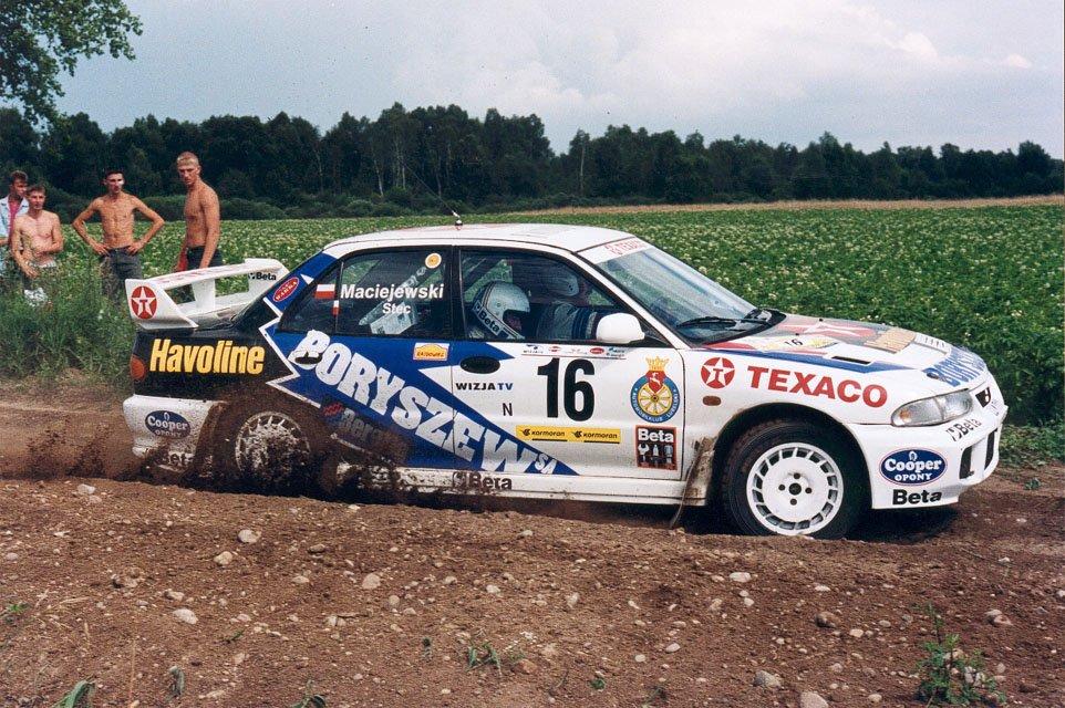 Wiesław Stec, Maciej Maciejewski, Mitsubishi Lancer Evo III