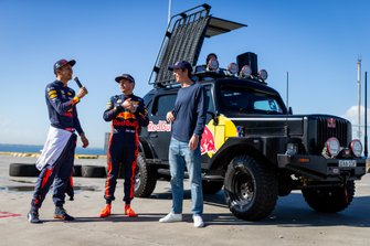 Max Verstappen y Alex Albon, Red Bull Racing