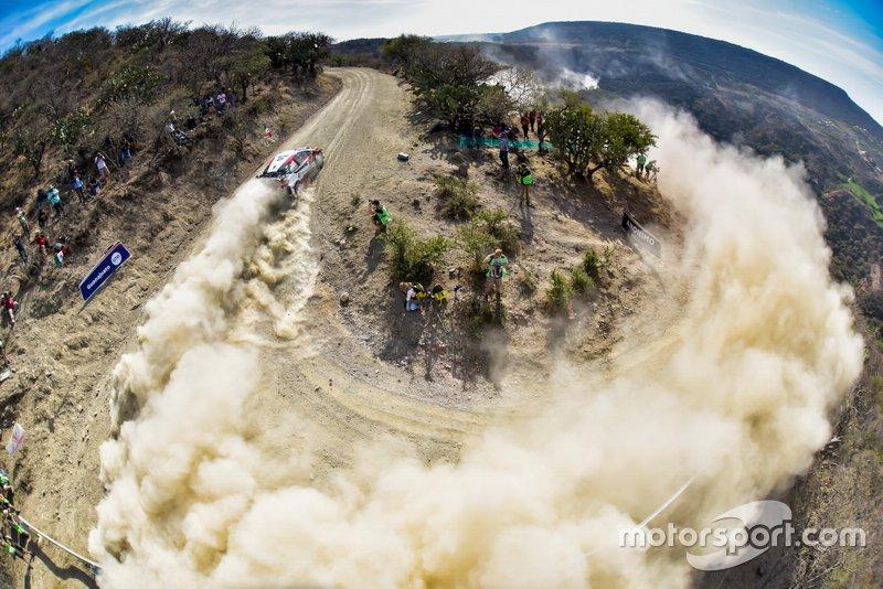 Калле Рованпера и Йонне Халттунен, Toyota Gazoo Racing WRT Toyota Yaris WRC