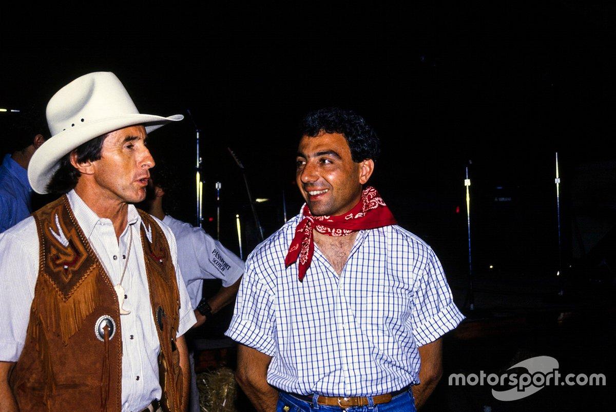 Jackie Stewart y Michele Alboreto, Tyrrell