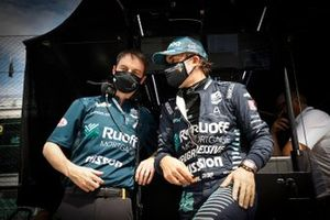 Fernando Alonso, Arrow McLaren SP Chevrolet, engineer