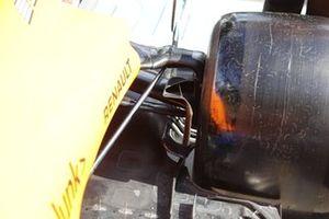 McLaren MCL35 rear suspension detail