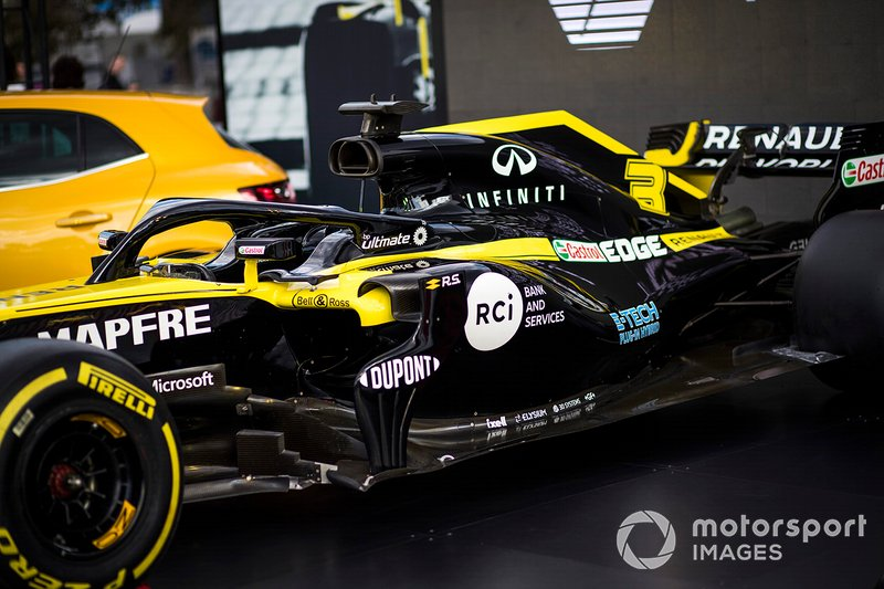 Detail of the Renault F1 Team R.S.20