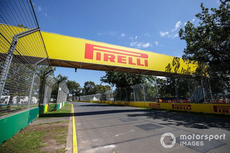 Pirelli en Albert Park