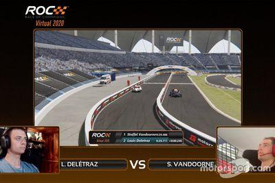 سباق اﻷبطال الافتراضي