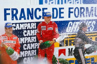 Podium: 1. Niki Lauda, McLaren, 2. Patrick Tambay, 3. Nigel Mansell