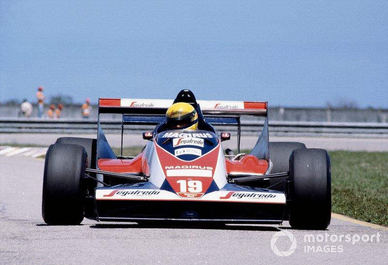 Ayrton Senna, Toleman TG183B Hart