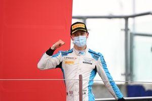 Podio: tercer lugar Jack Aitken, Campos Racing