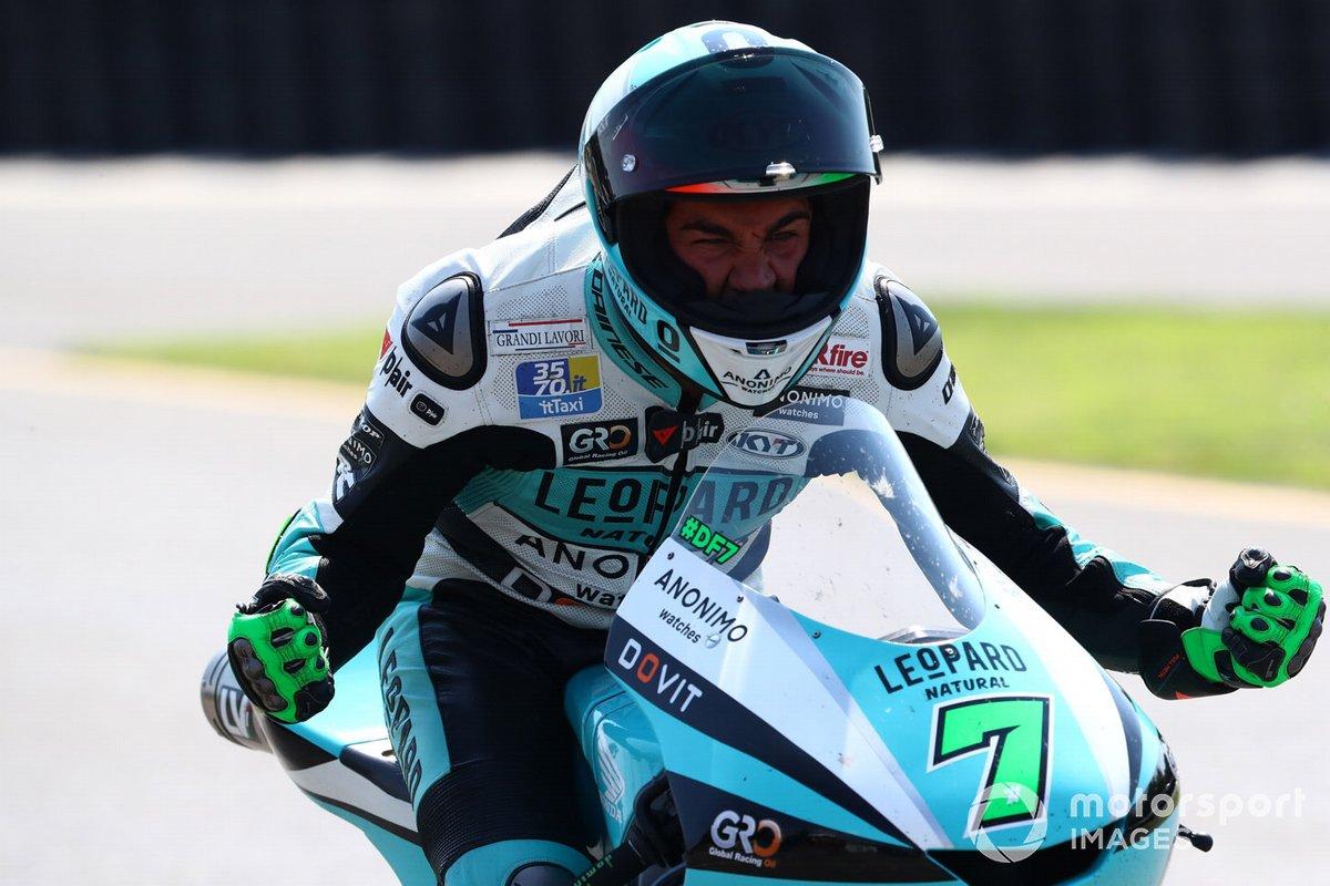 Ganador Dennis Foggia, Leopard Racing