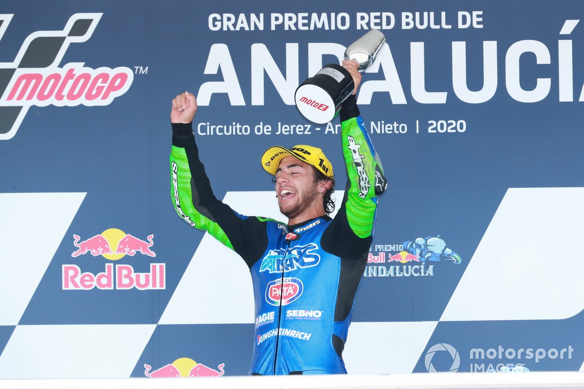 Ganador Enea Bastianini, Italtrans Racing Team