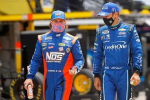 Ricky Stenhouse Jr., JTG Daugherty Racing Chevrolet, Matt Kenseth, Chip Ganassi Racing Chevrolet