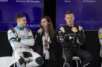 Press Conference Edoardo Mortara Venturi Formula E, Andre Lotterer, DS TECHEETAH