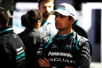 Nelson Piquet Jr., Panasonic Jaguar Racing, nel garage