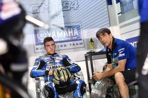 Corentin Perolari and Christophe Guyot (team manager) - GMT94