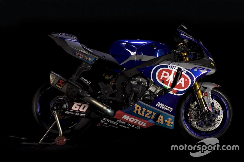 Yamaha YZF-R1 2019 livery at Yamaha YZF-R1 2019 announcement