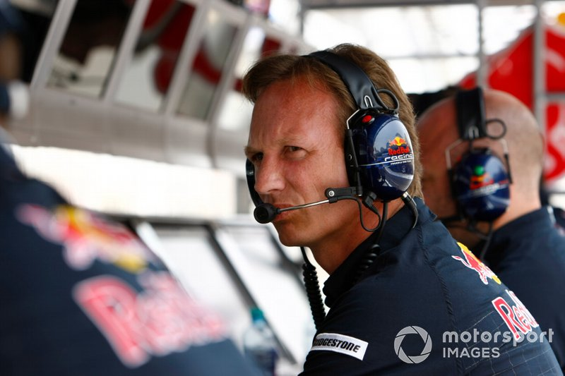 Christian Horner, director de equipo, Red Bull Racing