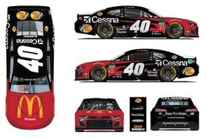 Jamie McMurray, Spire Motorsports livery