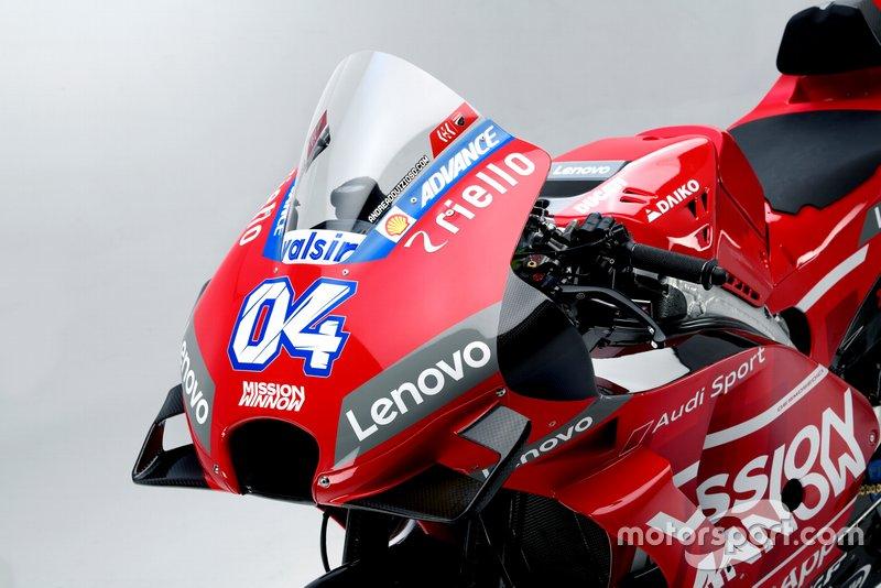 Ducati Desmosedici GP19, dettaglio