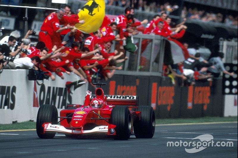#45 GP d'Australie 2001
