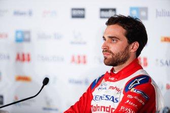 Jérôme d'Ambrosio, Mahindra Racing en la rueda de prensa
