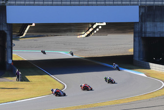 Renn-Action in Motegi: Andrea Dovizioso, Ducati Team, führt
