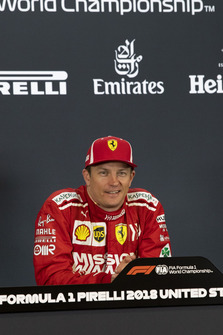 Kimi Raikkonen, Ferrari in de persconferentie