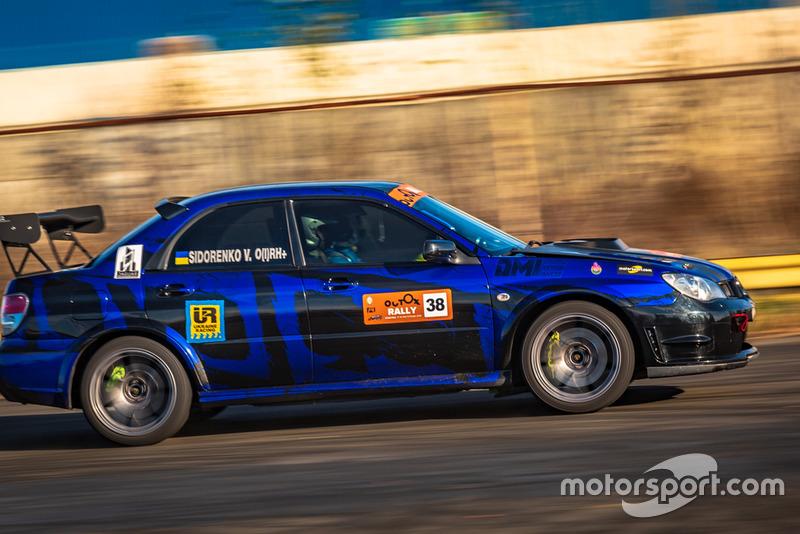 Євген Рахмайлов та Володимир Сидоренко, Subaru Impreza WRX STI, Ukraine Racing , Outox Rally Chayka