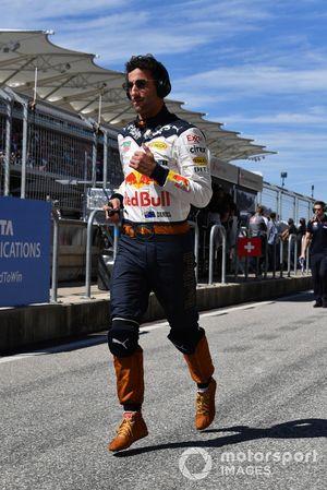Daniel Ricciardo, Red Bull Racing runs