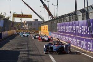 Robin Frijns, Envision Virgin Racing, Audi e-tron FE05, Jérôme d'Ambrosio, Mahindra Racing, M5 Electro