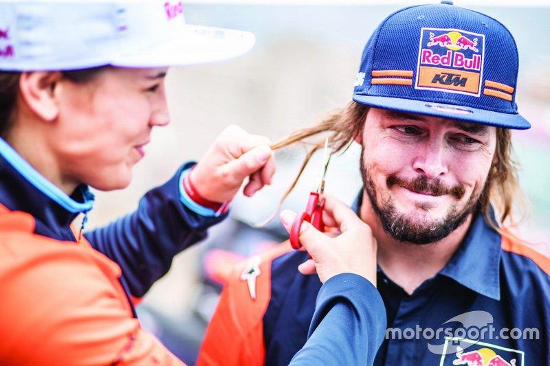 #17 Red Bull KTM Factory Racing KTM: Лайя Санс, #3 Red Bull KTM Factory Racing KTM: Тобі Прайс