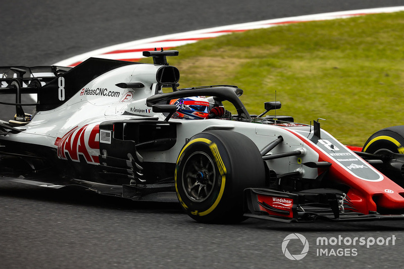 8. Romain Grosjean, Haas F1 Team VF-18