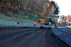 Trabajos de reforma en Nürburgring Nordschleife