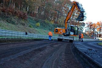 Lavori di costruzione al Nürburgring Nordschleife