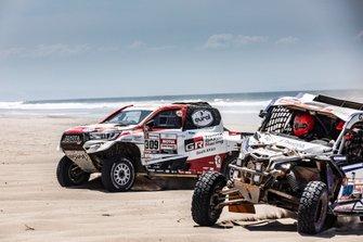 #309 Toyota Gazoo Racing Toyota: Bernhard ten Brinke, Xavier Panseri