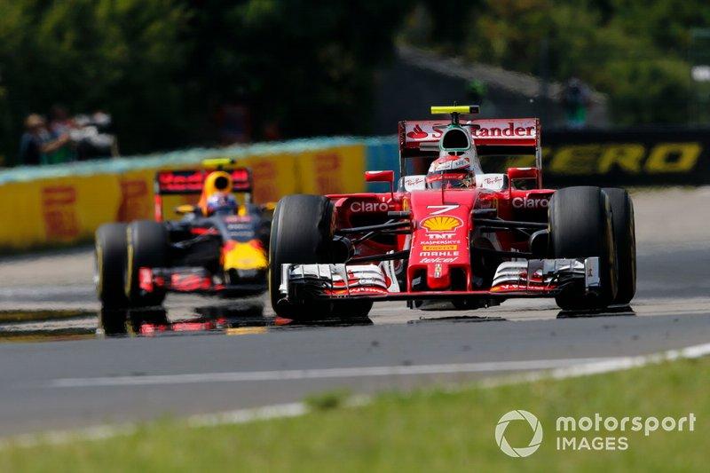 5) Kimi Raikkonen, 2016 Hungarian Grand Prix