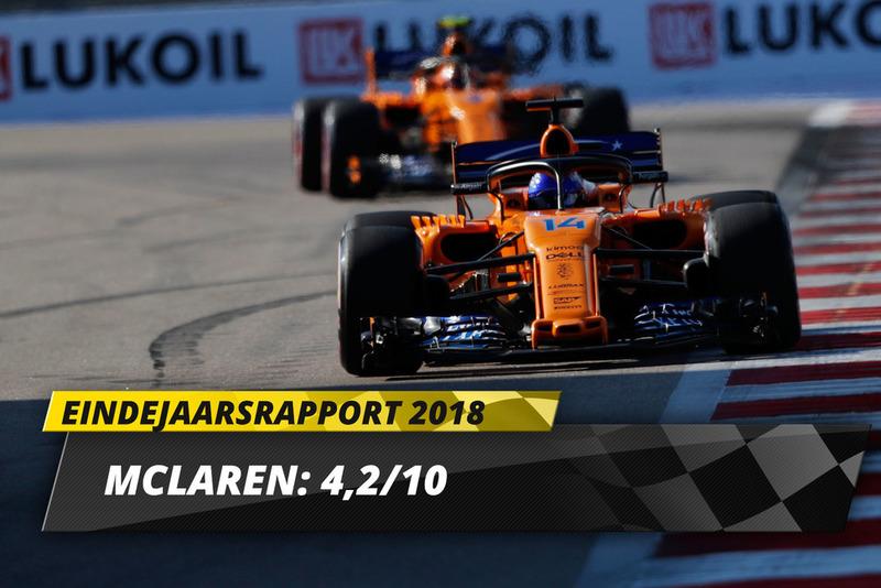 Eindrapport 2018: McLaren