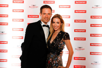 Sebastien Ogier with his wife Andrea