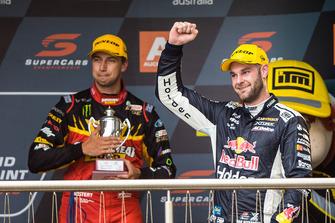 Podium: race winner Shane van Gisbergen, Triple Eight Race Engineering