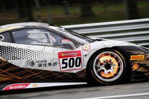 Ferrari 488 #500, Denker Group: Evan Mak