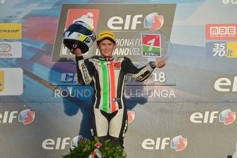 Il Campione 2018 della classe 125 Filippo Bianchi, Rmu