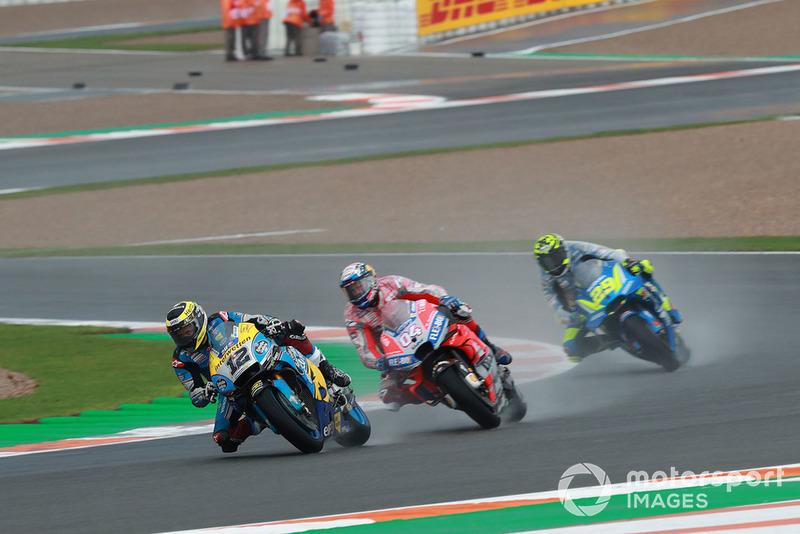 Thomas Luthi, Estrella Galicia 0,0 Marc VDS, Andrea Dovizioso, Ducati Team, Andrea Iannone, Team Suzuki MotoGP