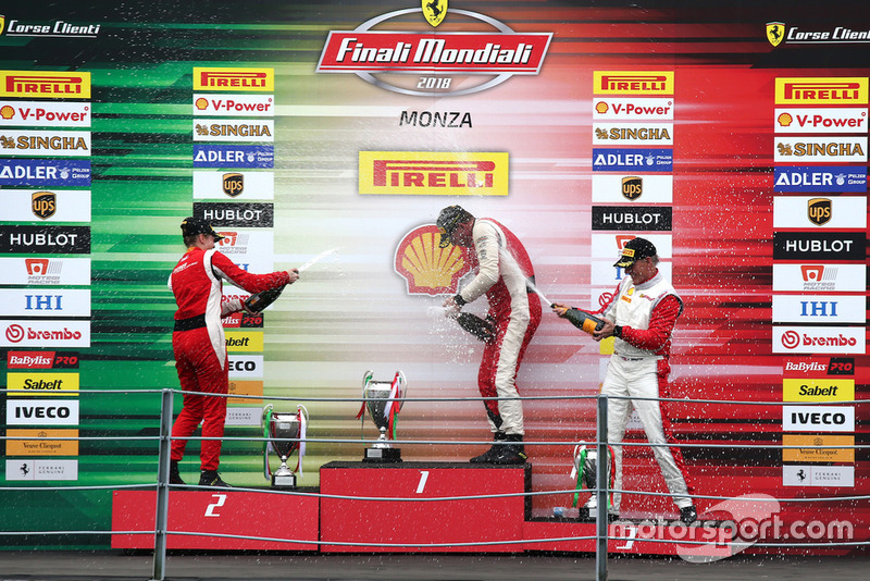 Podio Coppa Shell AM