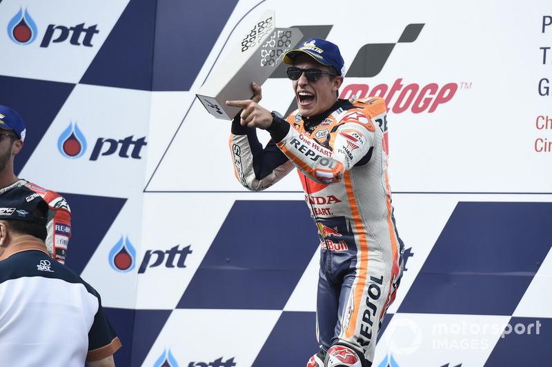 GP de Thaïlande : Marc Márquez (Repsol Honda Team), victoire