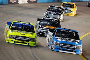 Ben Rhodes, ThorSport Racing, Ford F-150 The Carolina Nut Co. and Matt Crafton, ThorSport Racing, Ford F-150 Ideal Door/Menards