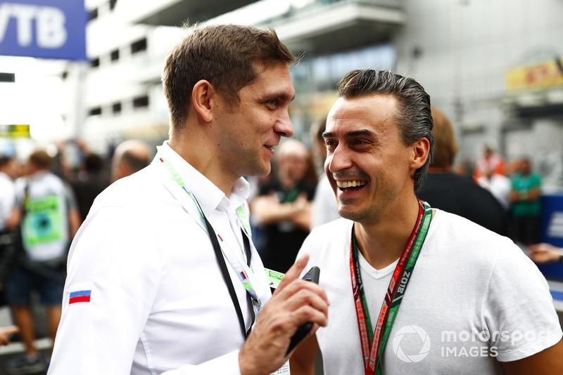 Vitaly Petrov and Roman Rusinov