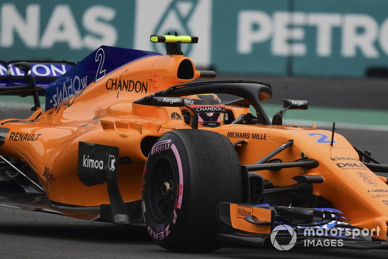 Stoffel Vandoorne, McLaren MCL33 1