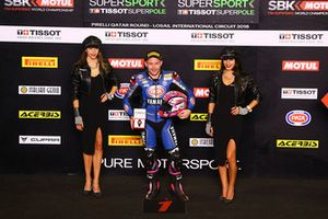 Pole: Lucas Mahias, GRT Yamaha Official WorldSSP Team