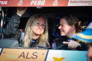 Аннетт Фишер и Андреа Петерансель, Racing4Charity, Cam-Am Maverick X3 (№385)